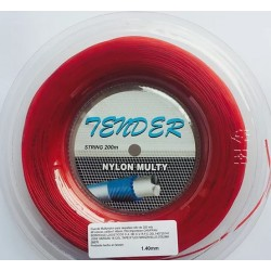 Tender Multy Nylon Rojo 1.40 200M